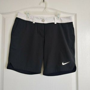 Nike Dri-Fit Golf Shorts Size 6 Black Womens